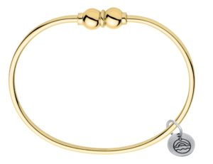 14k Yellow Gold Double Cape Cod Bracelet