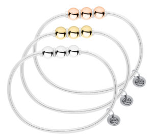 Cape Cod Triple Ball Bracelet
