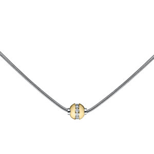 Diamond Cape Cod Necklace -Snake Chain