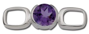 Check It Out Amethyst Clasp
