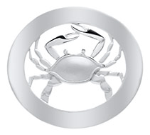 Crab with Border Clasp