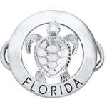 Florida Turtle Clasp