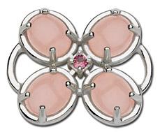 Pink Petal Pusher Clasp