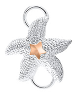 14K Rose Gold Starfish Clasp