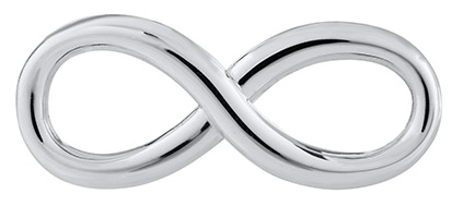 Sterling Silver Infinity Clasp